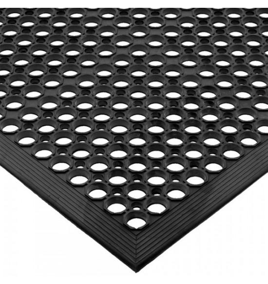 Bárszőnyeg Csúszásmentes fekete 152,5*91,5cm