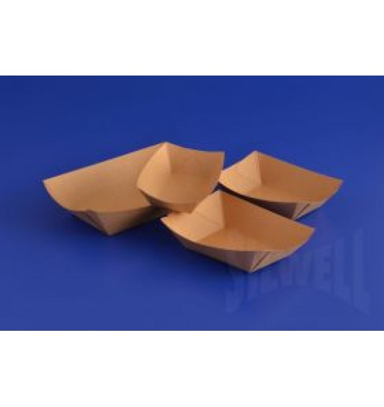 Papír csónak tálca ecokraft 100 ml  1000 db/#
