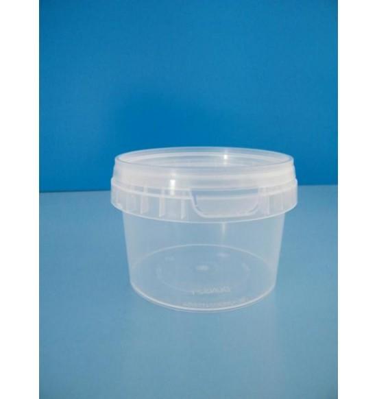 Műanyag dézsmazáras tál+tető 280 ml 200db/cs