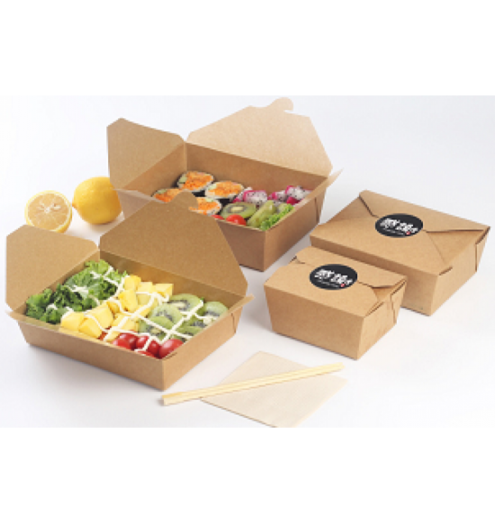 Food Box kraft  750 ml   400 db/#