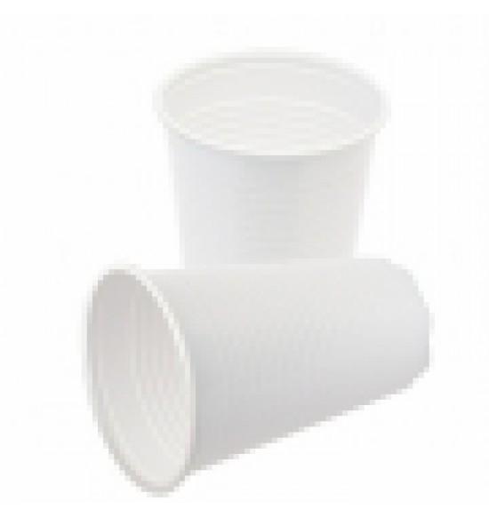 Műanyag fehérpohár 0,2L 3000/#100/cs