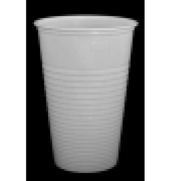 Műanyag fehérpohár 0,3L 2000#/100db