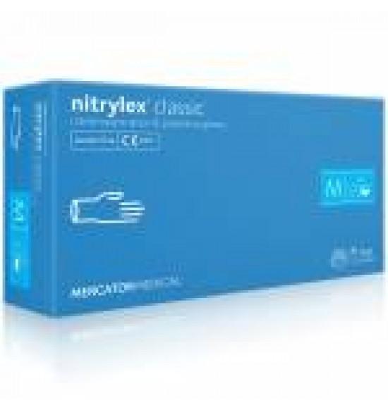 Gumikesztyű NITRYLL AKCIÓS kék  L 200db/cs púdermentes