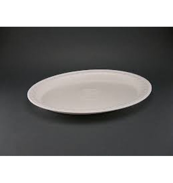 Habtányér ovális laminált tányér 400 db/#