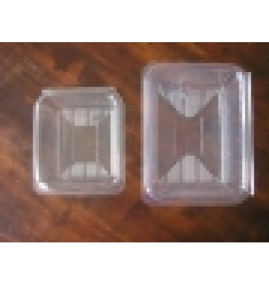 Műanyag Fedelesdoboz 500 ml szögl.600/#