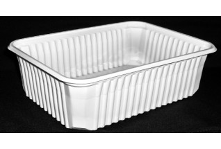 Műanyag 750 ml alj STANDARD fehér AKCIÓS szögl./400db/#