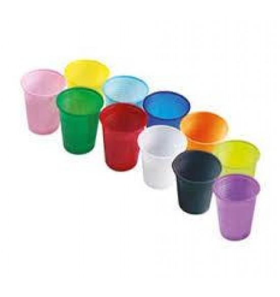 Műanyag SZÍNES pohár 180 ml 50 db/cs