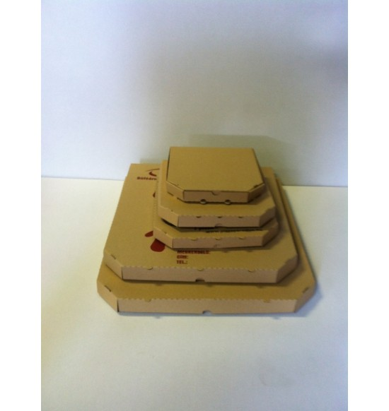 Pizzadoboz Sima 32cm