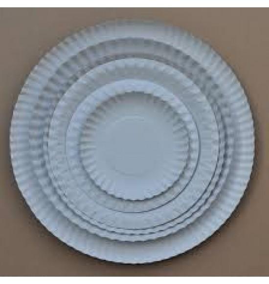 Papírtálca kerek 13 cm 500db/cs