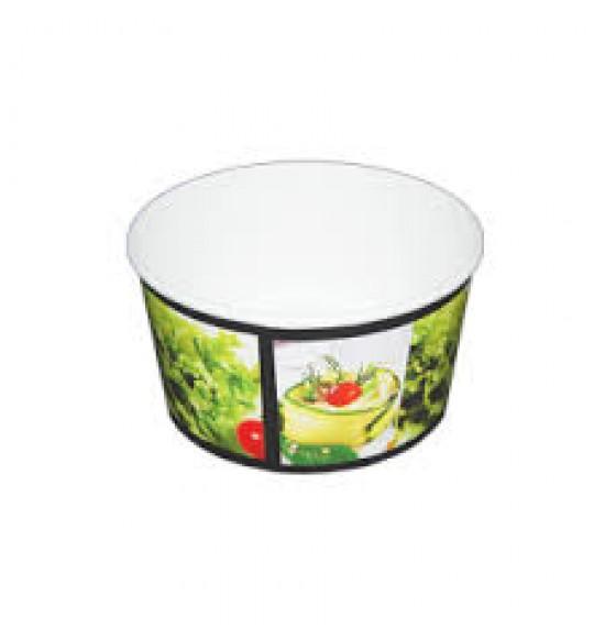 Papír Salátás tálka  1000 ml 40db/cs