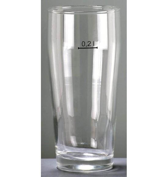s19908 jeles pohár 0,2 L  sörös villi