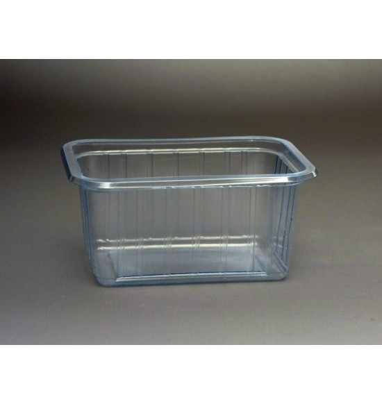 Műanyag szögletes 425 ml alj VT /800#