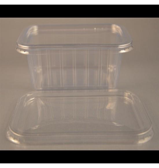 Műanyag szögletes TETŐ 270-425ml-es/800# 50db