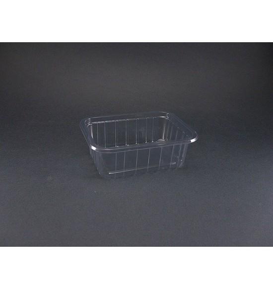 Műanyag szögletes 270 ml alj VT /800#